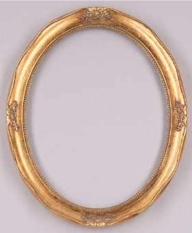 Economy Oval Picture Frame OV4