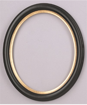 Economy Oval Picture Frame OV8