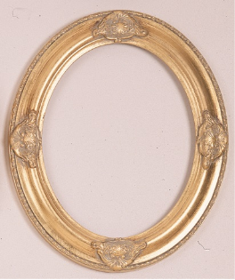 Economy Oval Picture Frame OV14